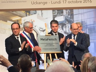 UCKANGE - Inauguration de Metafensch