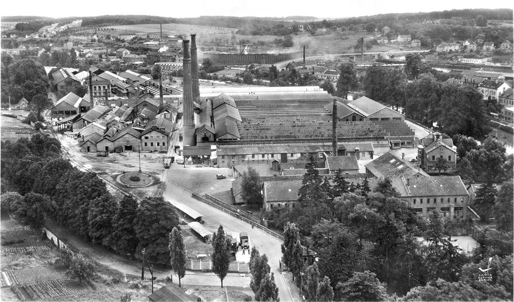 1958-Sarreguemines-Faiencerie